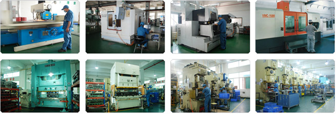 Progressive stamping process, metal stamping in China